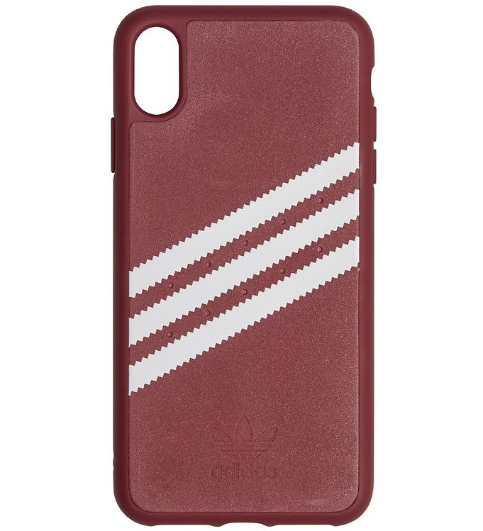 Image of   adidas Originals Cover - 3-Stripes - iPhone XS Max - Burgundy