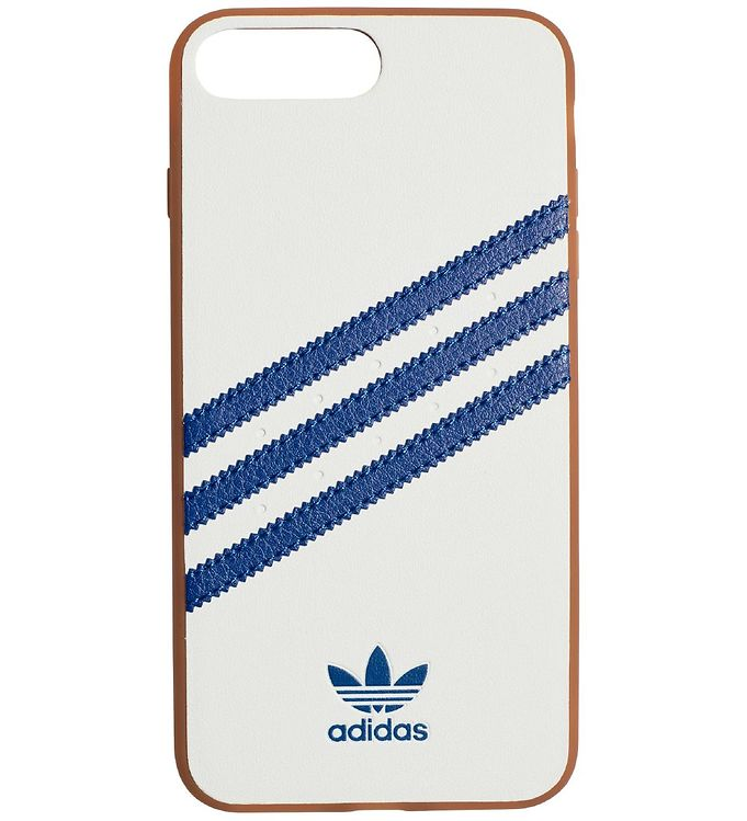 Image of   adidas Originals Cover - iPhone 6+/6S+/7+/8+ - Hvid m. Blå