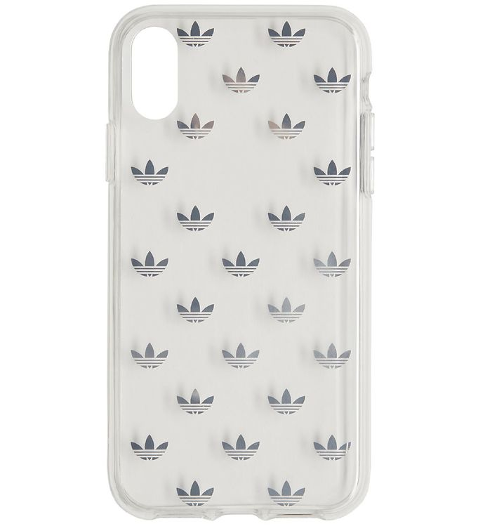 Image of adidas Originals Cover - Trefoil - iPhone XR - Silver