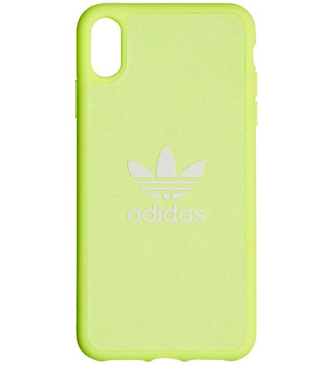 Image of adidas Originals Cover - Trefoil - iPhone XS Max - Hi-Res Yellow (MV450)