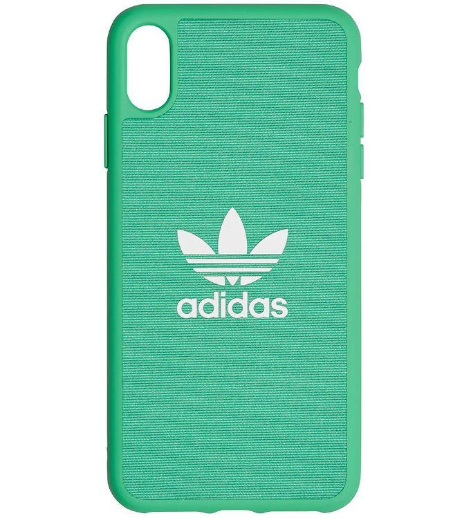 Image of adidas Originals Cover - Trefoil - iPhone XS Max - Hi-Res Green (MV452)