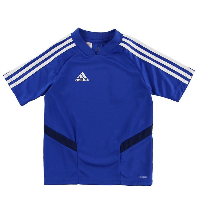 Image of adidas Performance T-shirt - Tiro19 - Blå (MV467)