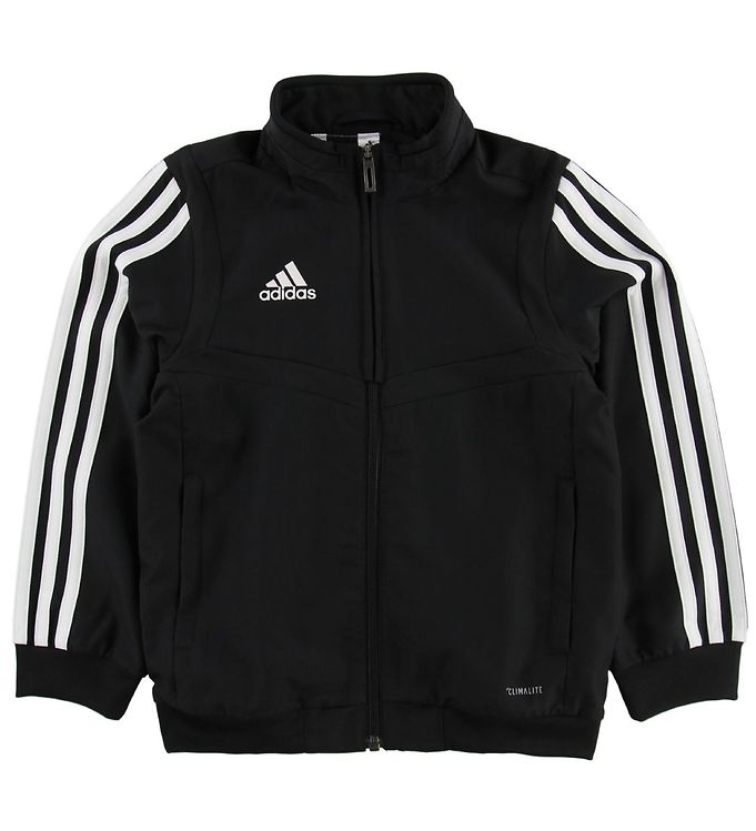 Image of adidas Performance Cardigan - Tiro19 - Sort (MV476)