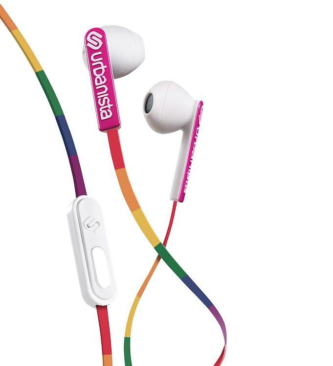 Image of Urbanista Høretelefoner - San Francisco - in-ear - Lucky Rainbow (MV524)