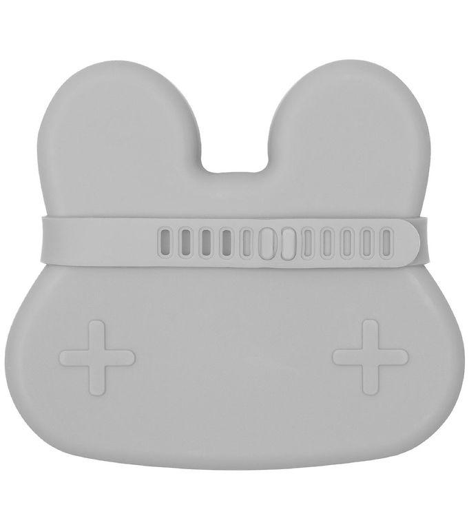 Image of We Might Be Tiny Snackboks - Kanin - Silikone - Grå (MV589)