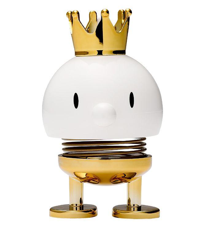 Hoptimist Prince Bumble - 8 cm - Hvid