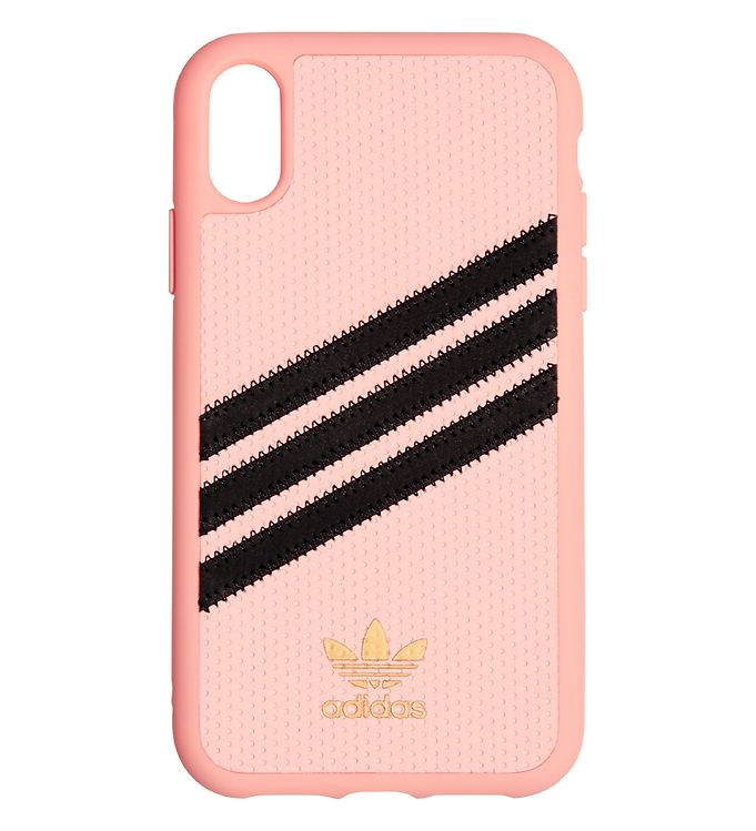 Image of   adidas Originals Cover - 3-Stripes - iPhone XS Max - Clear Pink