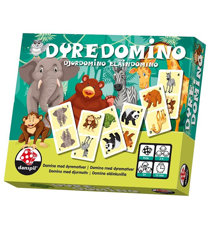 Danspil Board Game - Domino - Animals thumbnail