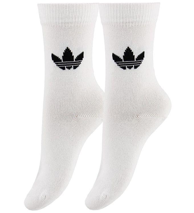 Image of adidas Originals Strømper - 2-pak - Hvid m. Logo (MX574)