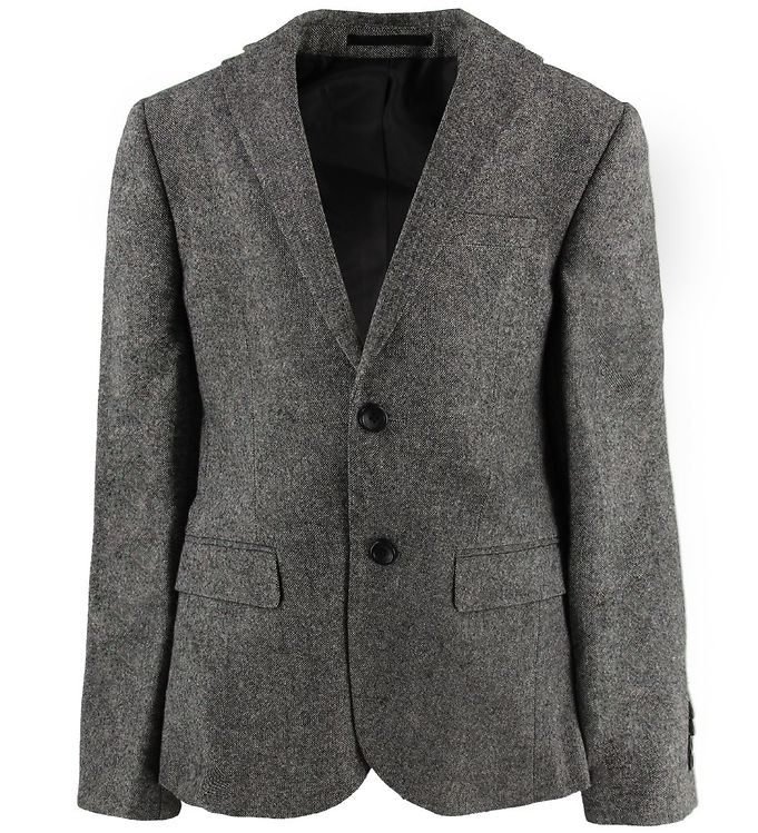 Image of Grunt Blazer - Uld/Polyester - Salt & Pepper (MX736)