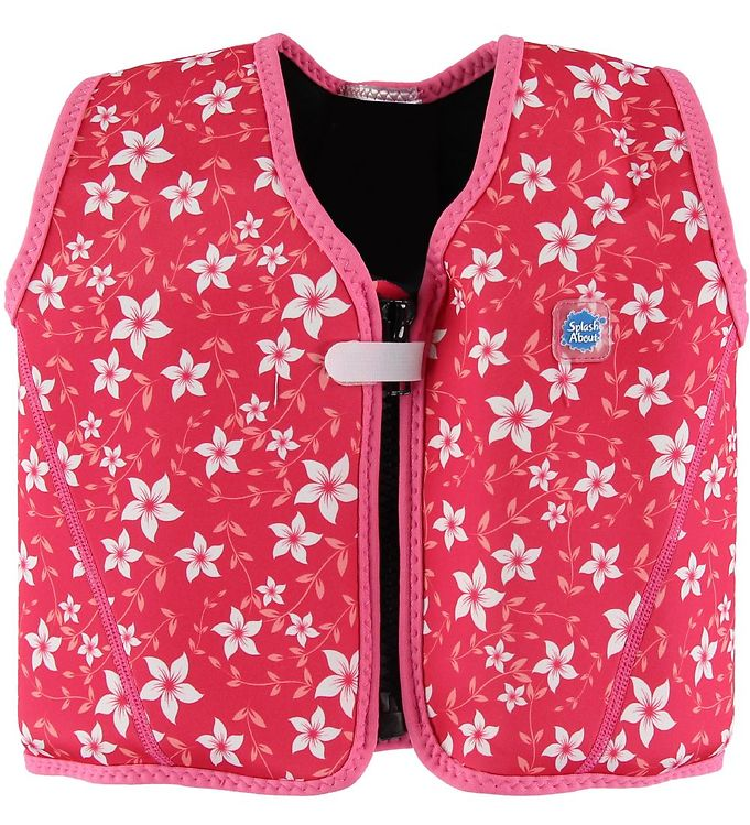 Image of Splash About Badevest - Go Splash Float - UV50+ - Pink Blossom (MY337)