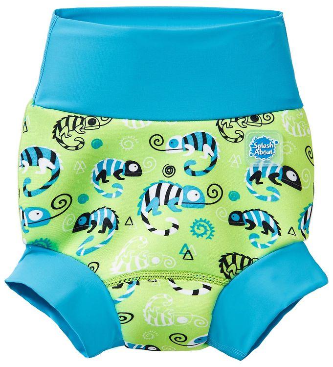 Image of Splash About Blebadebukser - Happy Nappy - UV50+ - Green Gecko (MY347)