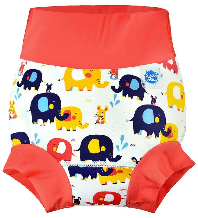 Image of Splash About Blebadebukser - Happy Nappy - Little Elephants (MY349)