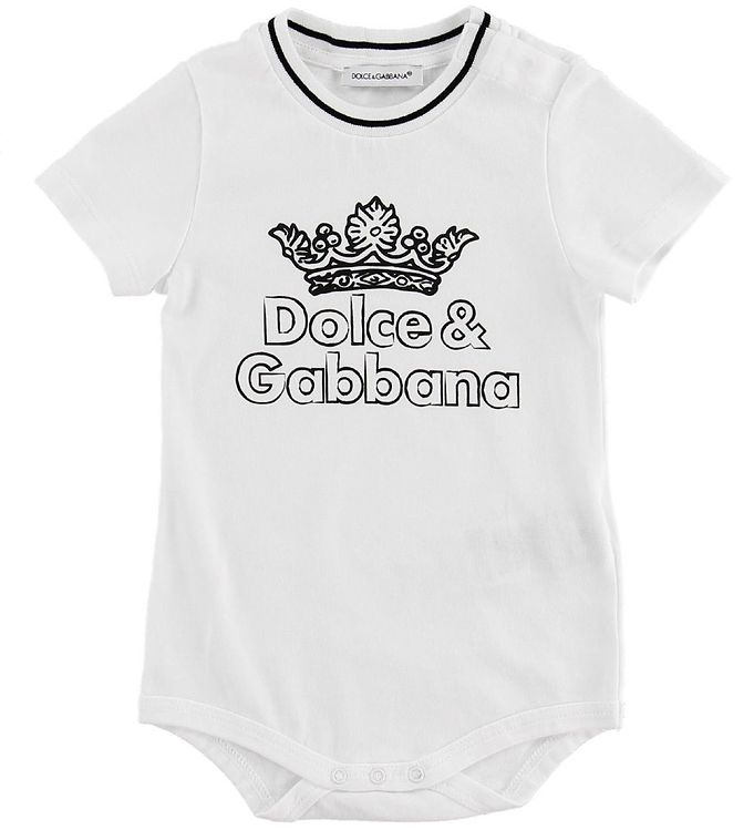 Image of Dolce & Gabbana T-shirt - DNA - Hvid (MY523)