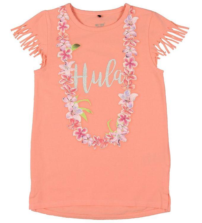 Image of Me Too Tunika - Apricot Blush m. Hula-print (MY794)
