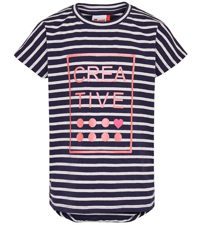 Image of Lego Wear T-shirt - Navystribet (MY869)