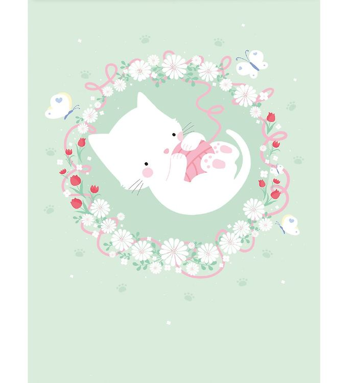 Image of A Little Lovely Company Plakat - 50x70 cm - Cat