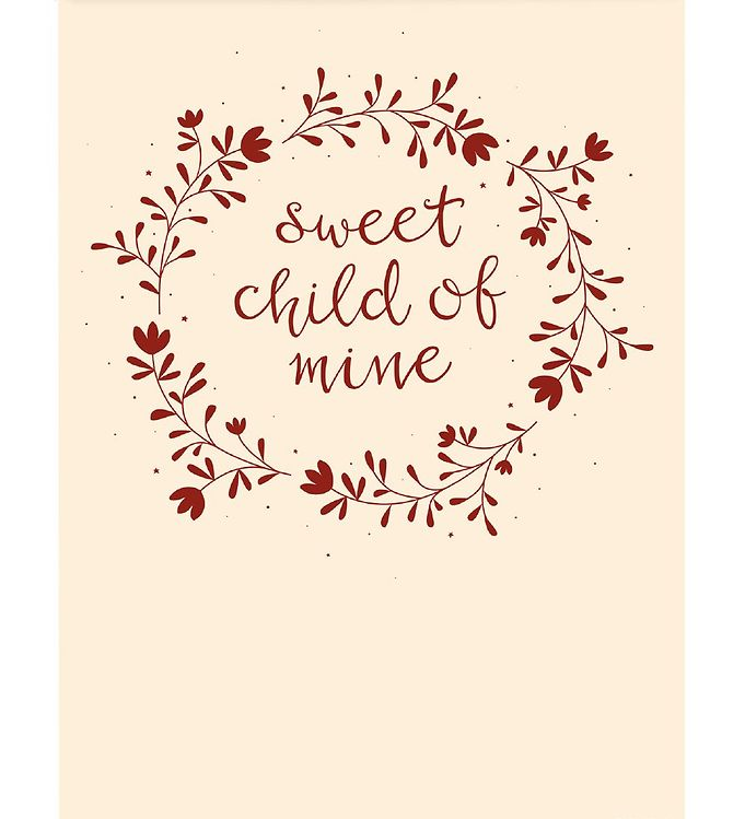 Image of A Little Lovely Company Plakat - 50x70 cm - Sweet child