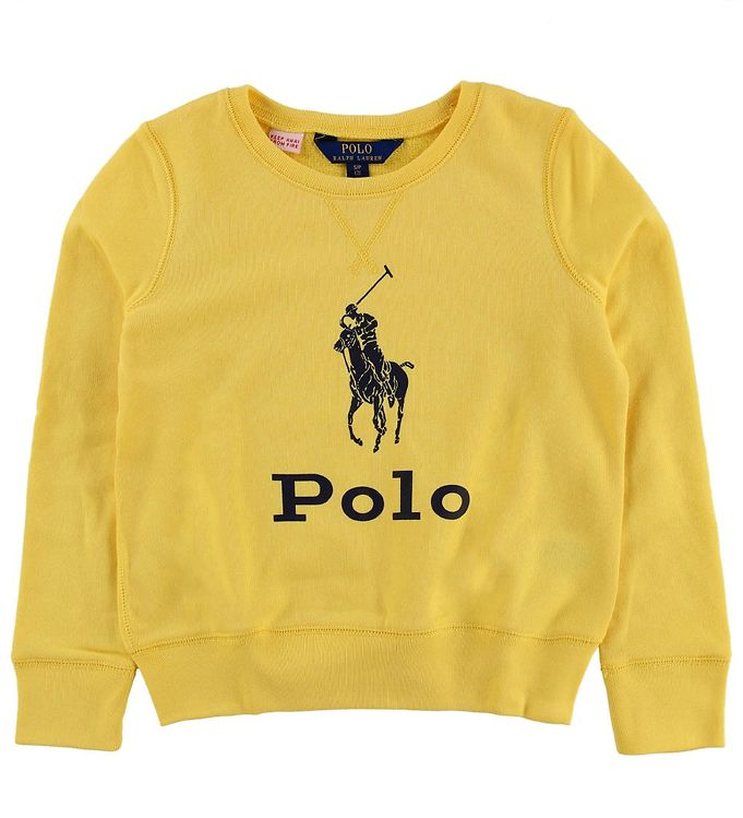 Image of Polo Ralph Lauren Sweatshirt - Gul (MZ502)
