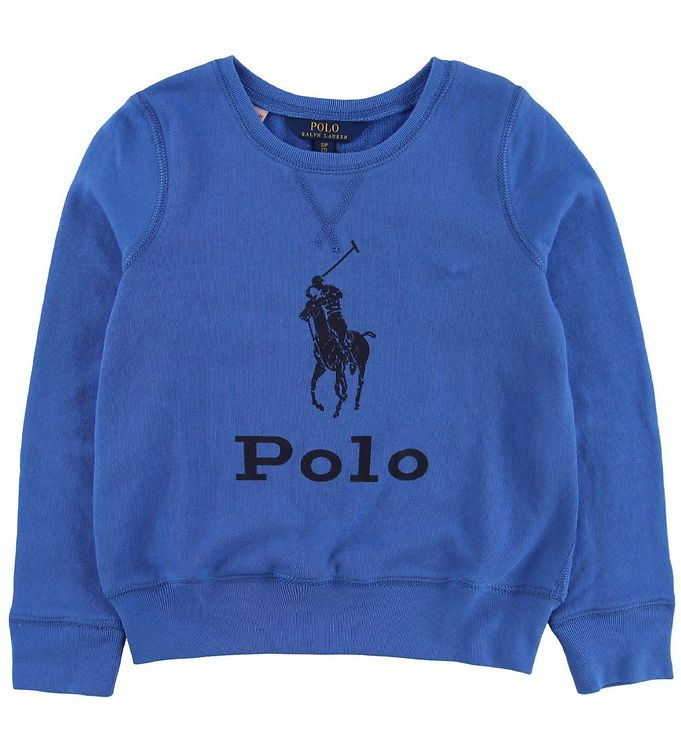 Image of Polo Ralph Lauren Sweatshirt - Blå (MZ503)
