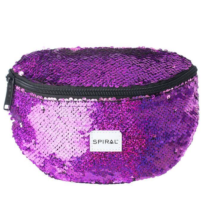 Image of Spiral Bæltetaske - Harvard - Glamour Purple Sequins (MZ650)