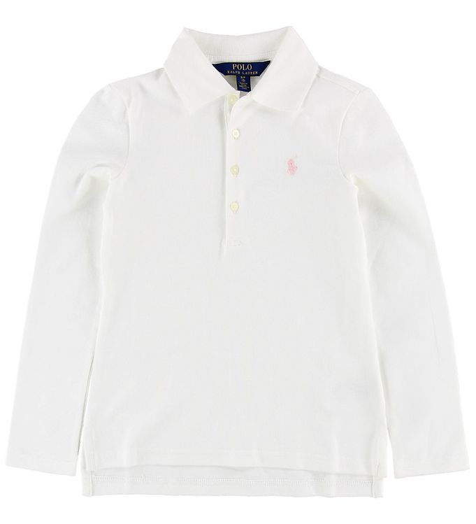 Image of Polo Ralph Lauren Polo Bluse - Hvid (MZ831)