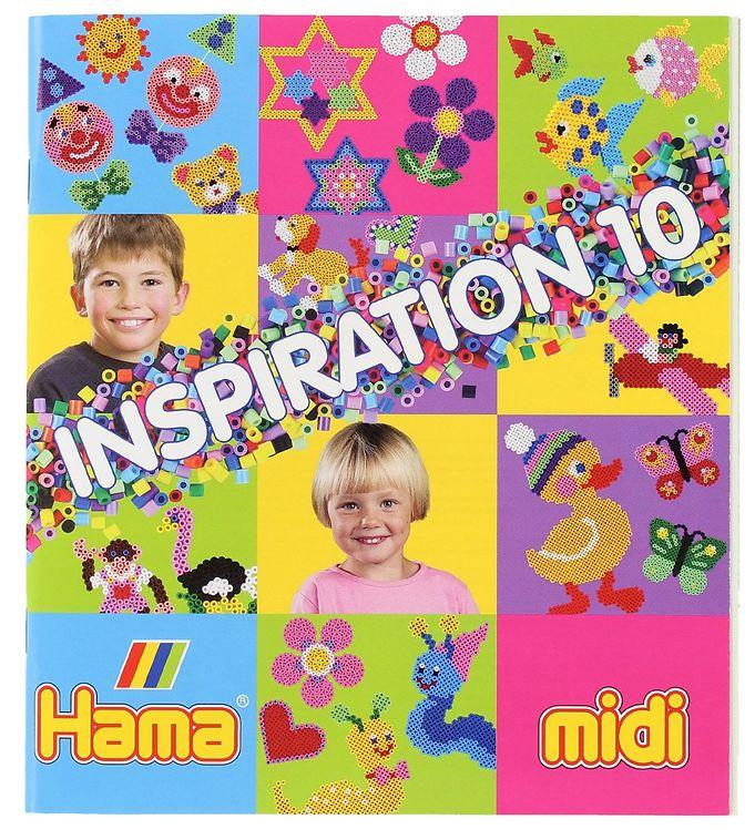 hama – Hama midi inspirationsbog - nr 10 fra kids-world