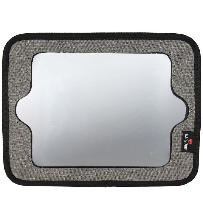 Image of BabyDan Tabletholder m. Spejl - Lux Grey (NA118)