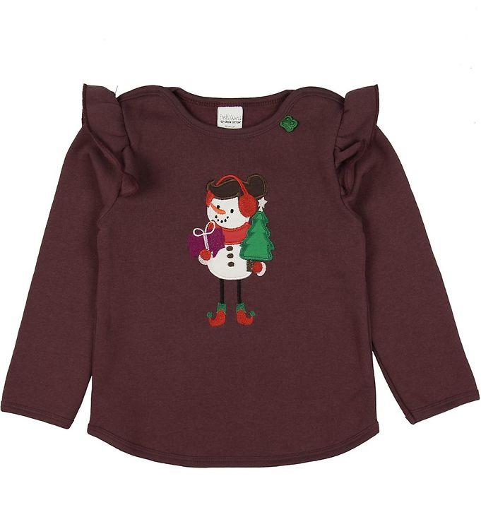 Image of Freds World Sweatshirt - Bordeaux m. Snemand (NA601)