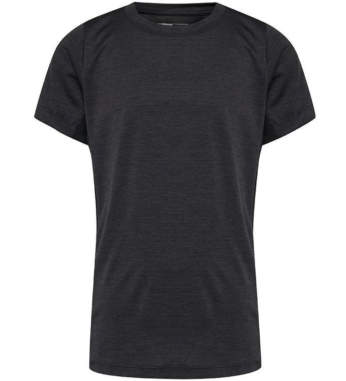 Image of Hummel T-shirt - HMLHarald - Mørkegråmeleret (NA686)