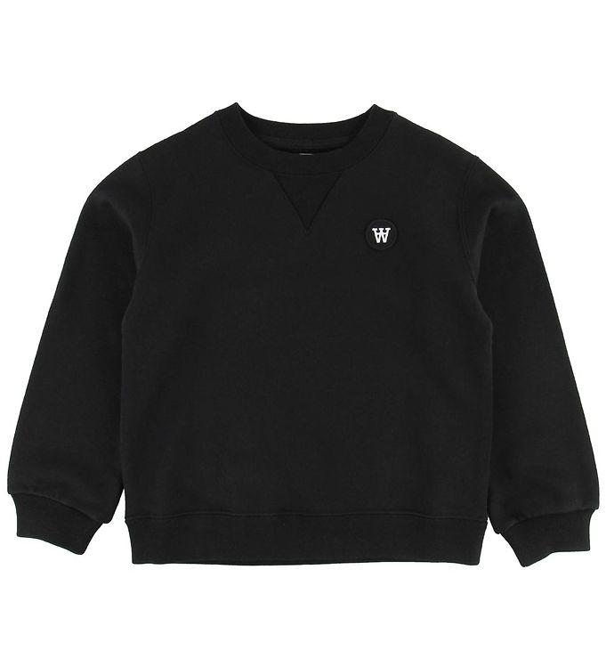 Image of Wood Wood Sweatshirt - Rod - Sort (NB268)