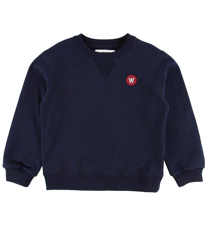 Image of Wood Wood Sweatshirt - Rod - Navy (NB269)