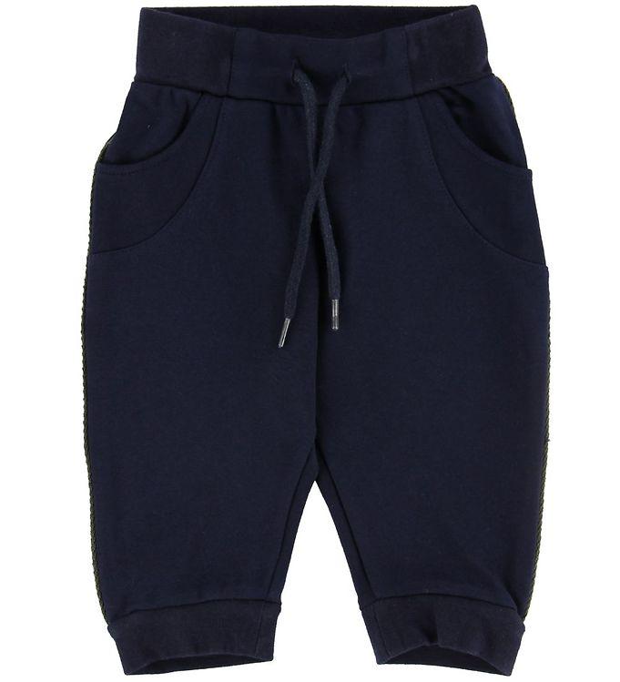 Image of Mini A Ture Sweatpants - Isak - Carbon (NB616)