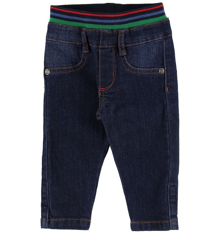 Image of Paul Smith Baby Jeans - Vlas - Mørkeblå Denim (NB665)