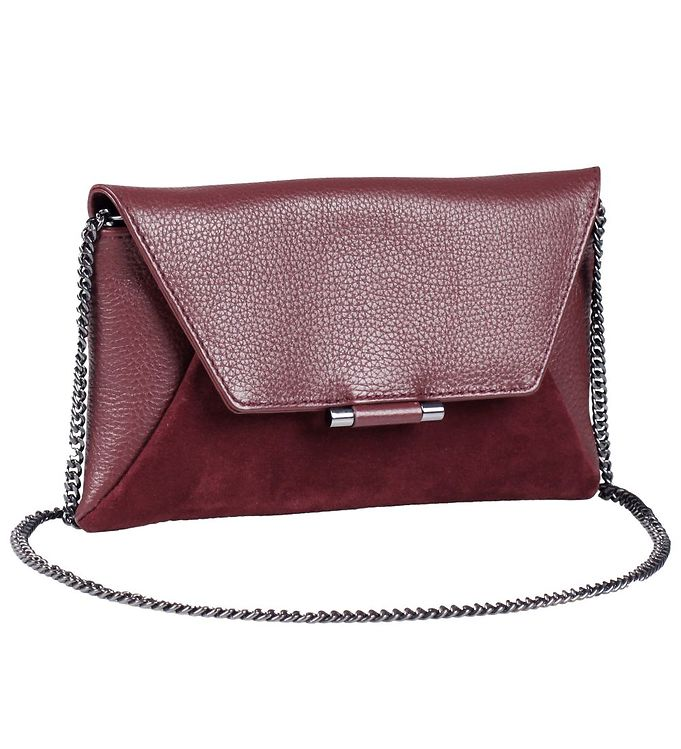 Image of Markberg Clutch - Dinah Suede Mix - Burgundy (NC920)