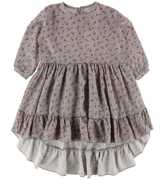 Image of Gro Kjole - Cille - Grey/Multi (ND604)