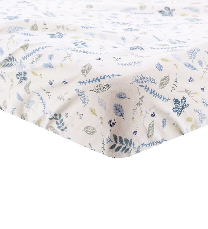 Image of Cam Cam Lagen - 70x140x15 - Pressed Leaves Blue (ND856)