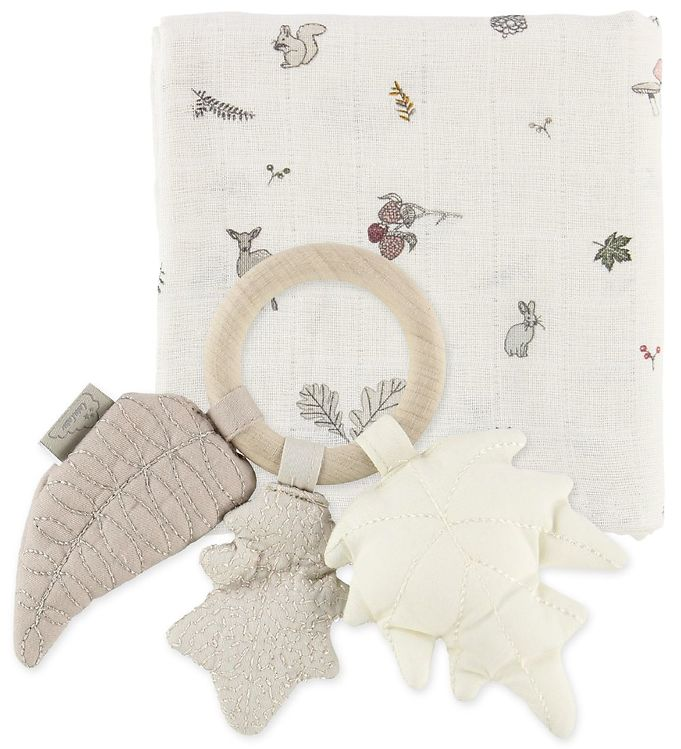 Cam Cam Giftbox - Rattle/Swaddle - Fawn thumbnail