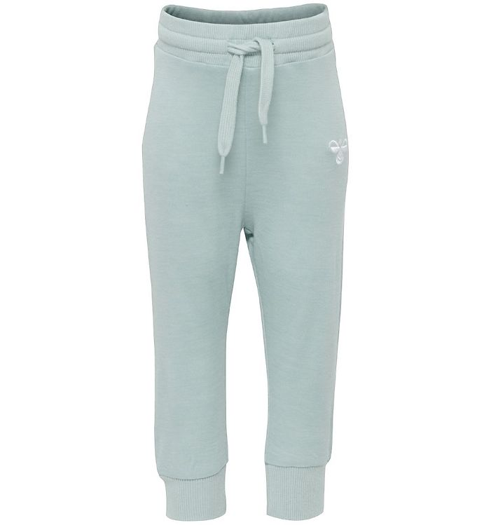 Image of Hummel Sweatpants - Uld/Viskose - Tolja - Turkis (ND955)