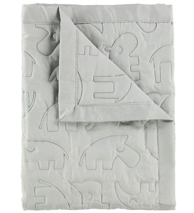 Image of Done By Deer Tæppe - 80x100 - Lys Grå (NE029)