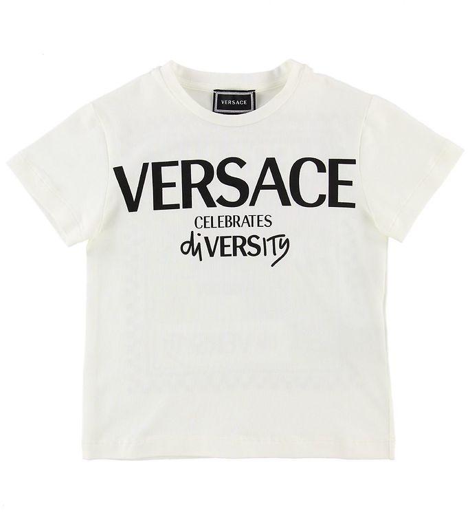 Image of Versace T-shirt - Hvid m. Print (NE752)