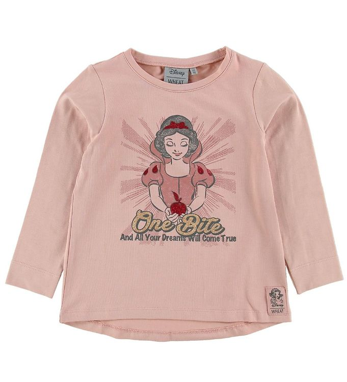 Image of Wheat Disney Bluse - One Bite - Misty Rose (NF380)