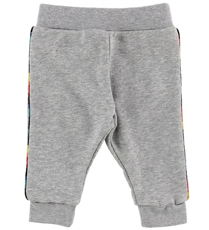 Image of Paul Smith Baby Sweatpants - Vroum - Gråmeleret (NF420)