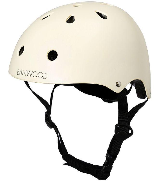 Image of Banwood Cykelhjelm - Classic - Creme (NF539)