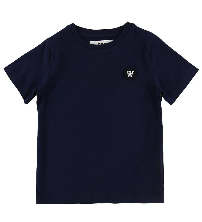 Image of Wood Wood T-shirt - Ola - Navy (NF559)