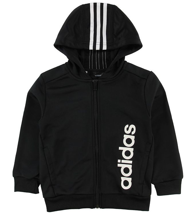 Image of adidas Performance Cardigan - Sort m. Logo