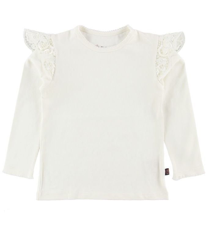 Image of Little Wonders Bluse - Filuca - Off White m. Blonde (NF874)
