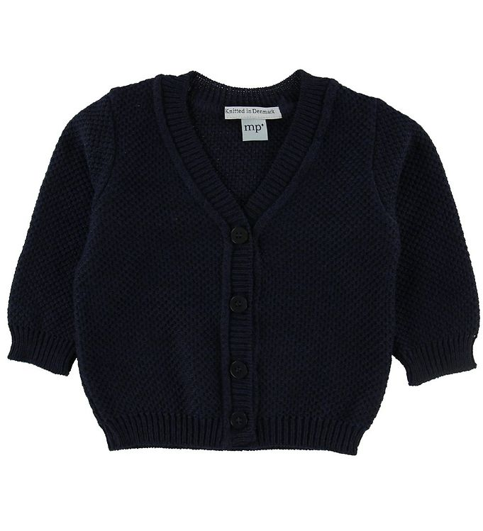 Image of MP Cardigan - Uld/Bomuld - Navy (NF905)