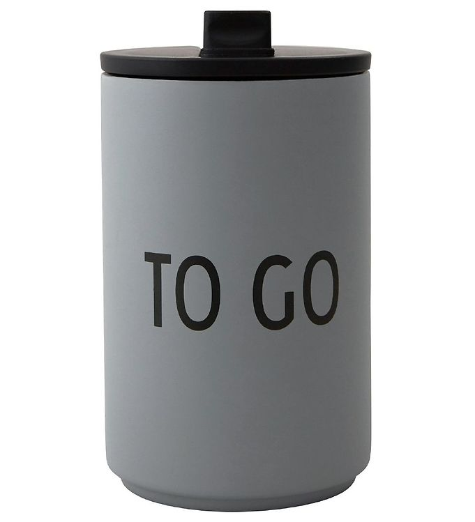 Image of Design Letters Termo - 350 ml - Grå (NG028)