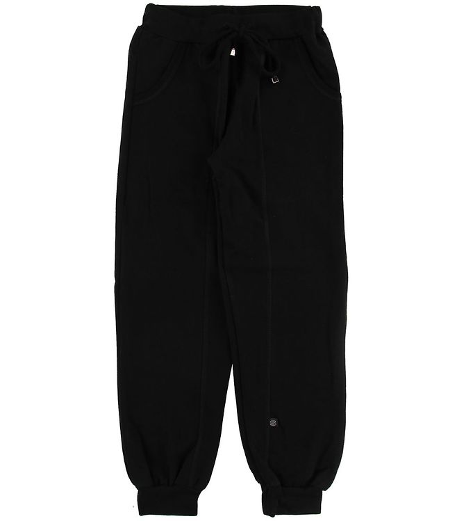 Image of Say-So Sweatpants - Sort m. Syning (NG427)